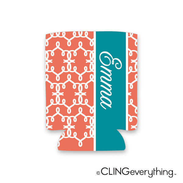 In'Stitches Koozie Personalized Monogram, Initial, Name