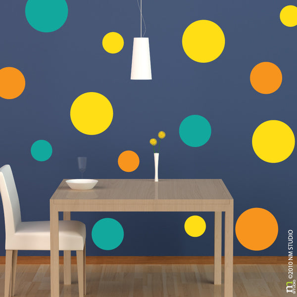 Polka Dottie Polka Dot Wall Decal Circles