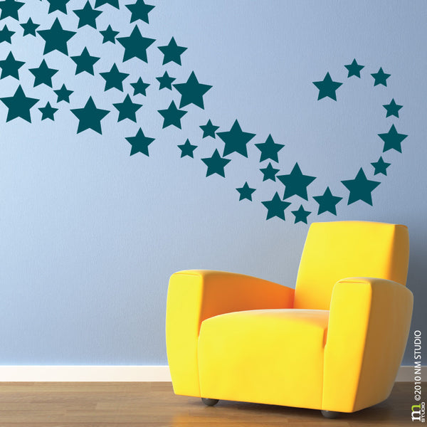 Hollywood Stars Wall Decal