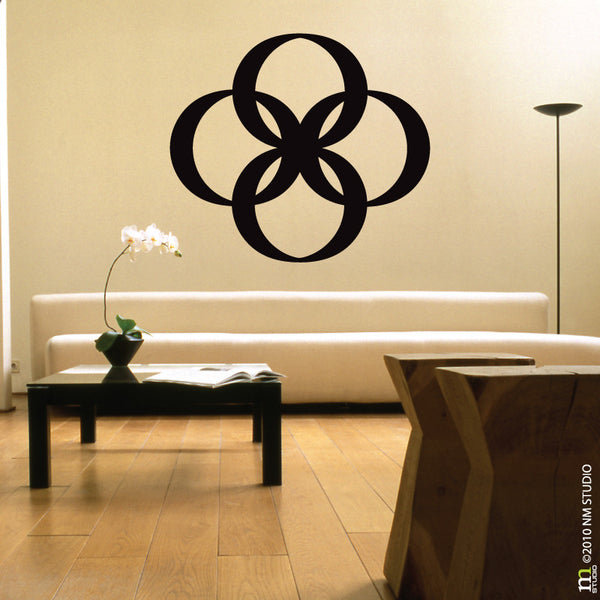 Infinity Mondern Geometric Wall Decal