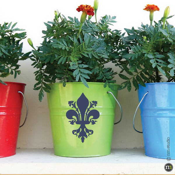 Melrose Fleur de lis Decal Decorative Small Party Favor