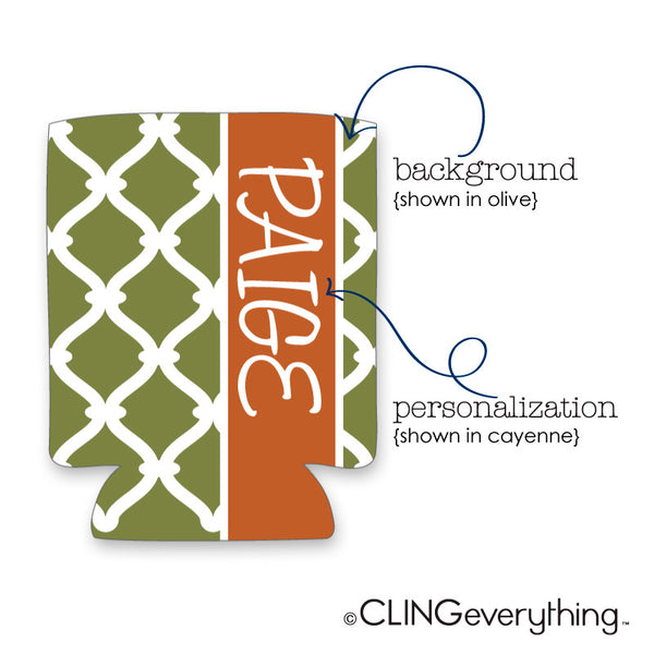Link Koozie Personalized Monogram, Initial, Name Options