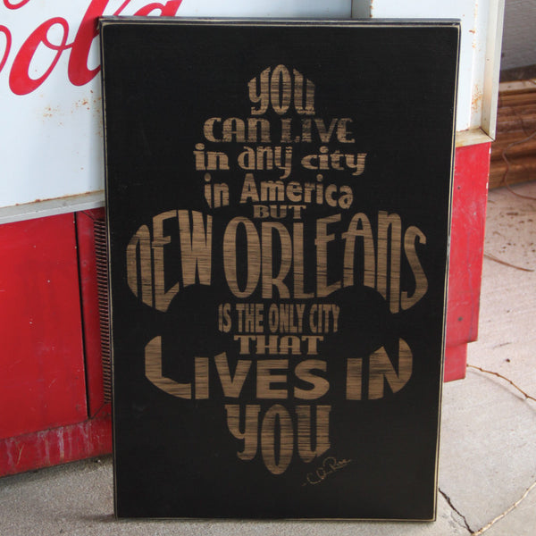 new orleans subway wood sign cling creative living