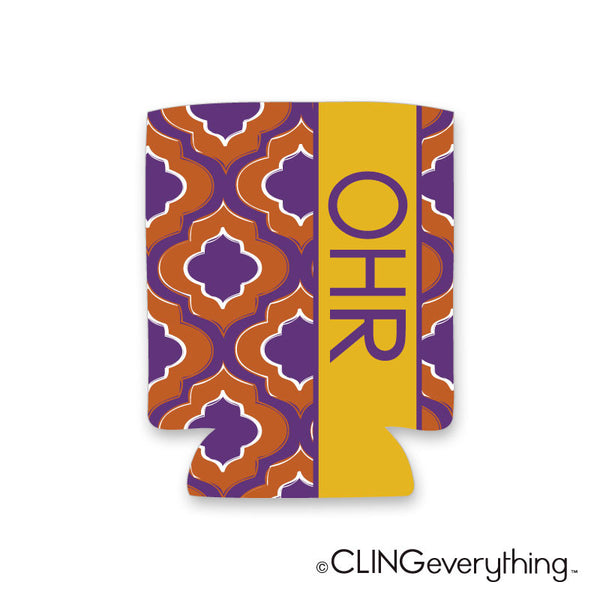 Ogee Koozie Personalized Monogram, Initial, Name