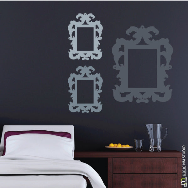 Rococo Decorative Frame Wall Decal