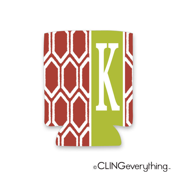 Ruby Koozie Personalized Monogram, Initial, Name