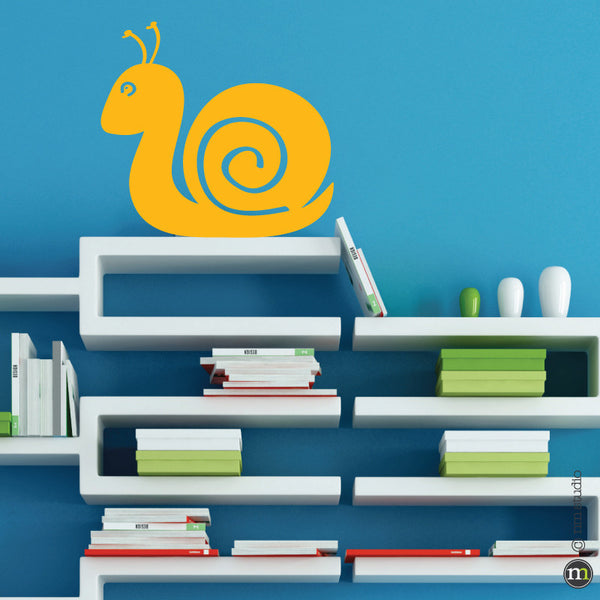 Snail Wall Decal Bug Boy Room Nursery