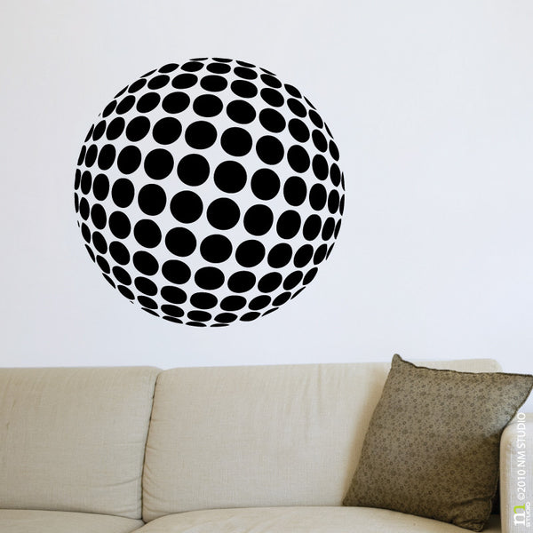 Sphere Circle Modern Wall Decal