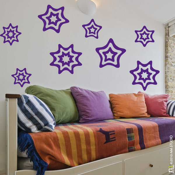 Starlight Star Wall Decal