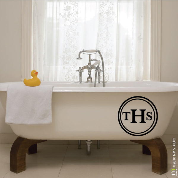 Thomas Monogram Wall Decal Initials