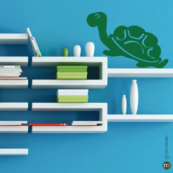 Tortoise Turtle Wall Decal Nursery Boy Room