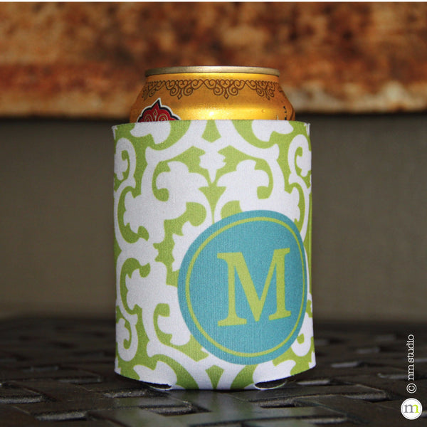 Bocage Koozie Personalized Monogram, Initial, Name