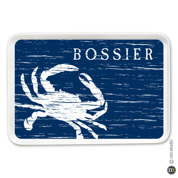Crab Tray Personalized