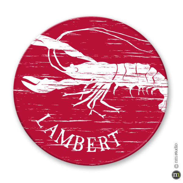 Personalized Crawfish Plate