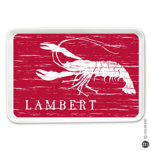 Crawfish Tray Personalized