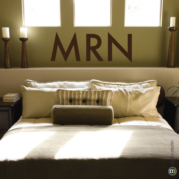 Jackson Monogram Wall Decal