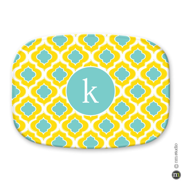 Ogee Platter Personalized Monogram, Initial, Name