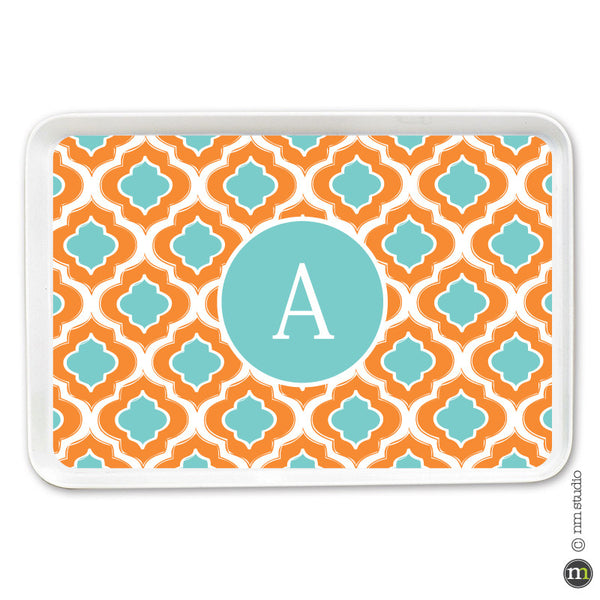 Ogee Tray Personalized Monogram, Initial, Name