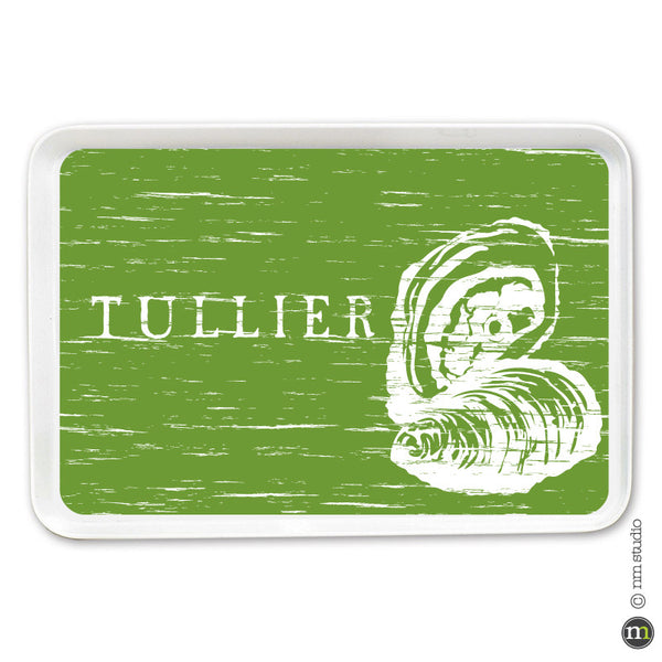 Oyster Tray Personalized