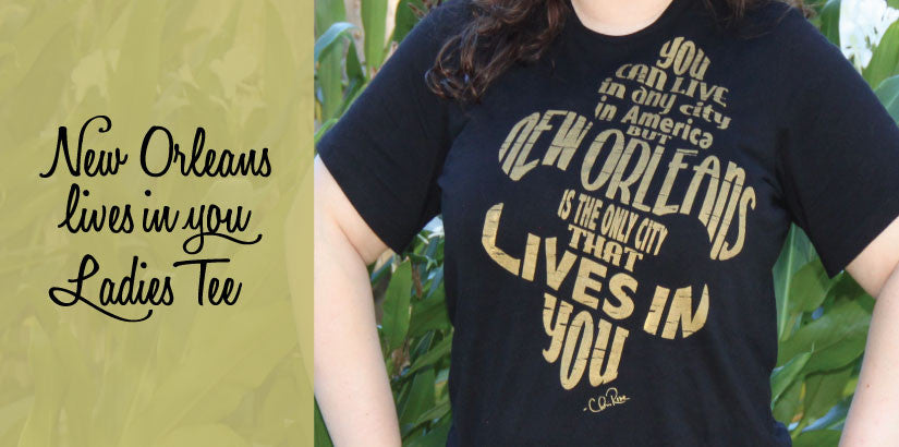 New Orleans Lives in You T-Shirt