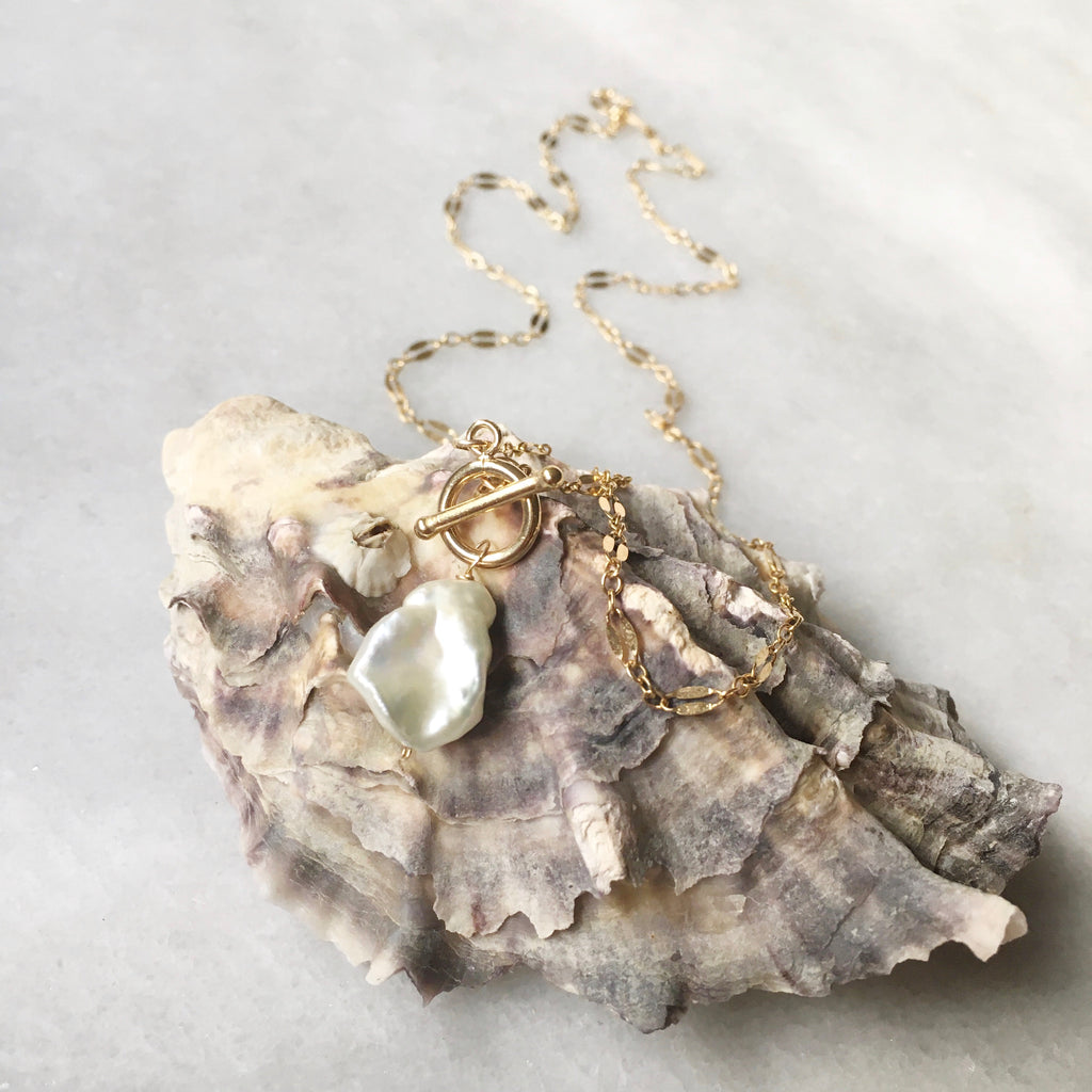 Kana Necklace - Keshi Pearl