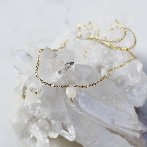 Jiai Necklace - Opal