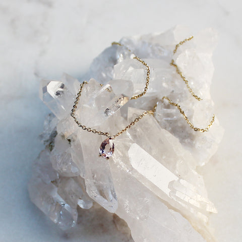 Netsuai Necklace - Morganite