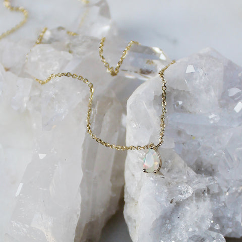 Netsuai Necklace - Opal