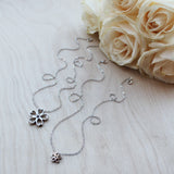 Sakura Necklace - Small, Sterling Silver