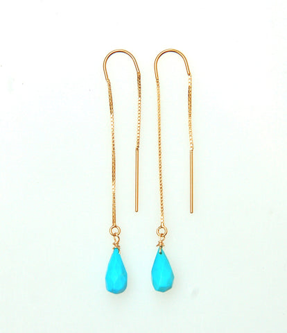Gold Filled Threader Earrings