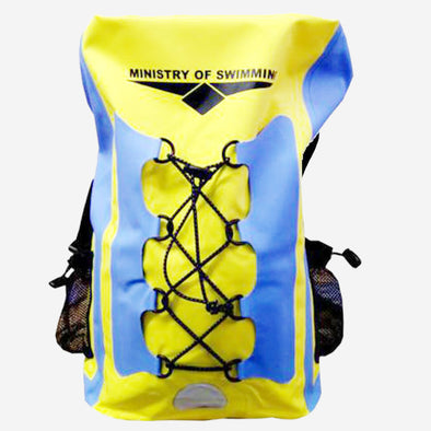 Waterproof Dry bag backpack (Yellow Blue)
