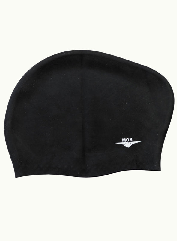Long Hair Cap Black - Ministry Of Swimming