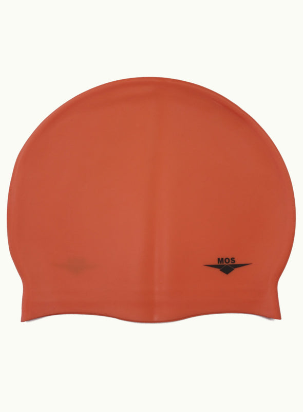 Orange Large Ocean Pool Cap - Ministry Of Swimming