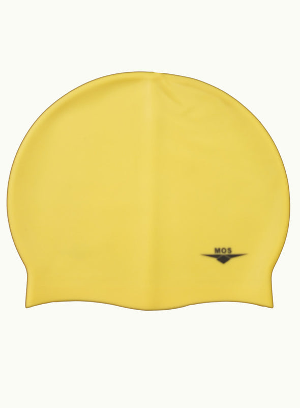 Yellow Large Ocean Pool Cap - Ministry Of Swimming