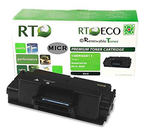 RT Compatible 106R02311 MICR Toner Cartridge for Xerox 3315, 3325