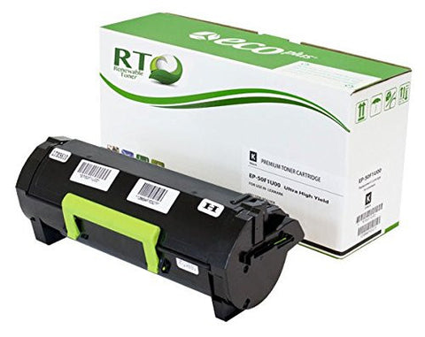 Lexmark 501U | 50F1U00 Compatible Black Toner Cartridge