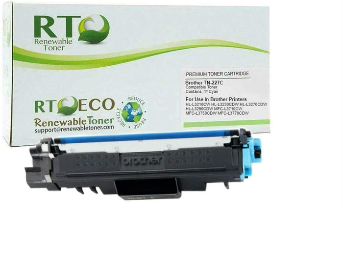 RT Compatible Toner Cartridge Replacement for Brother TN-227Y High Yield (Yellow)