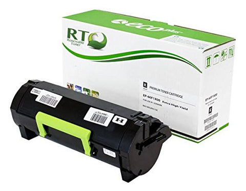 RT Compatible Lexmark 601X 60F1X00 Toner Cartridge (Black)