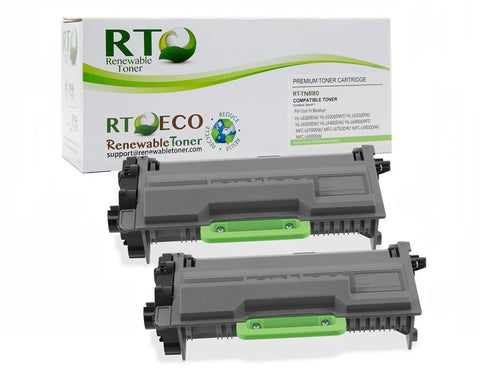 RT TN-880 Compatible Toner Cartridge, High Yield (2-Pack)