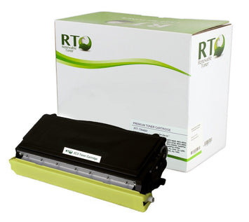 RT Compatible Toner Cartridge Replacement for Brother TN460 TN-460 (Black, 2-Pack)