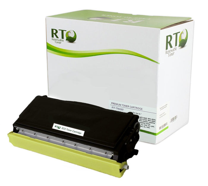 RT Compatible Toner Cartridge Replacement for Brother TN430 TN-430 (Black)