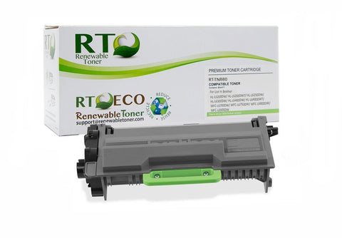 Brother TN-880 Compatible Toner Cartridge, High Yield