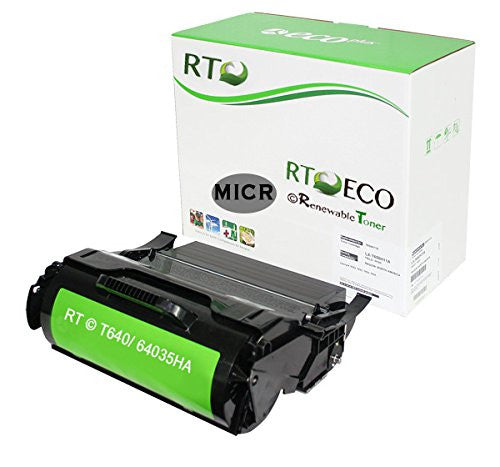 RT Compatible Lexmark 64035HA MICR Toner Cartridge