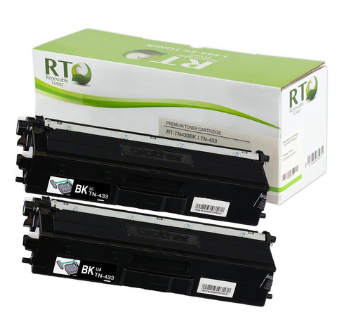 RT TN-433 Compatible Toner Cartridge, High Yield (2-pack)