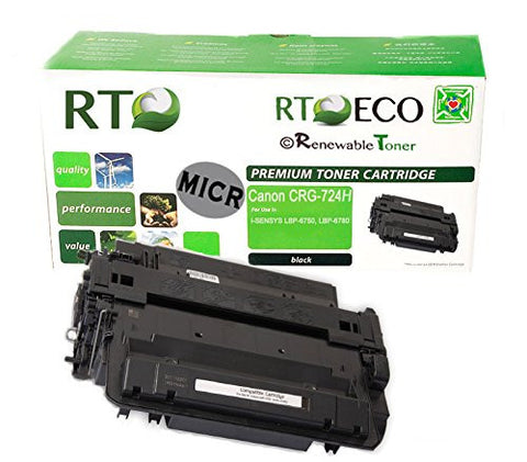RT Compatible Canon 724H MICR Cartridge, High Yield
