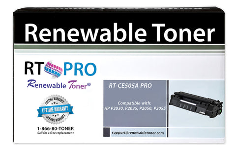 RT PRO 05A | CE505A Compatible Toner Cartridge