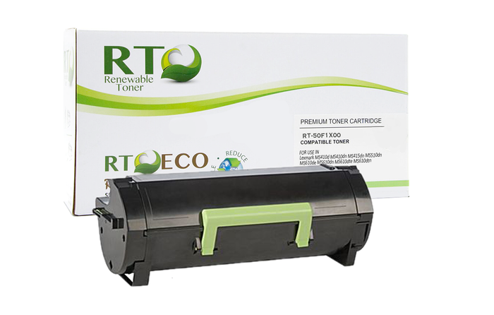 RT Compatible Lexmark 501X 50F1X00 Toner Cartridge, High Yield