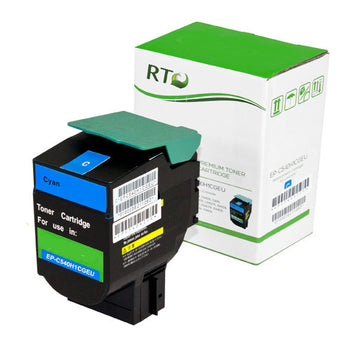 RT Compatible Lexmark C540H2CG Toner Cartridge (Cyan)