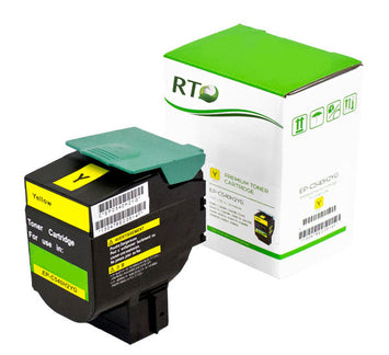 RT Compatible Lexmark C540H2YG Toner Cartridge (Yellow)