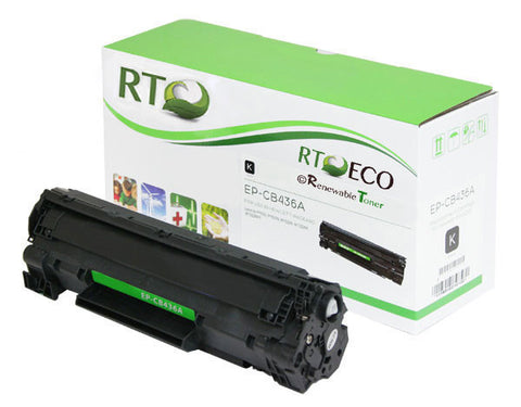 RT 36A | CB436A Compatible Toner Cartridge (2-pack)